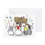 Happy Holidays Diversity Greeting Card