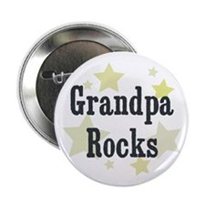 "Grandpa Rocks 2.25"" Button"