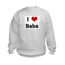 I Love Baba Sweatshirt