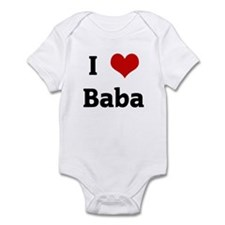 I Love Baba Infant Bodysuit