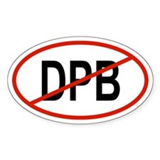 DPB Oval Decal