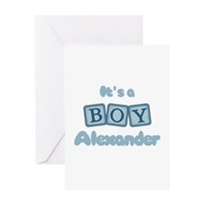 It's A Boy - Alexander Greeting Card