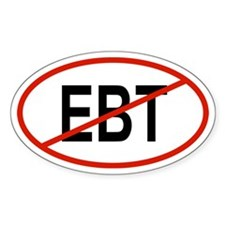 EBT Oval Decal