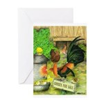 Chicks For Sale Greeting Card
