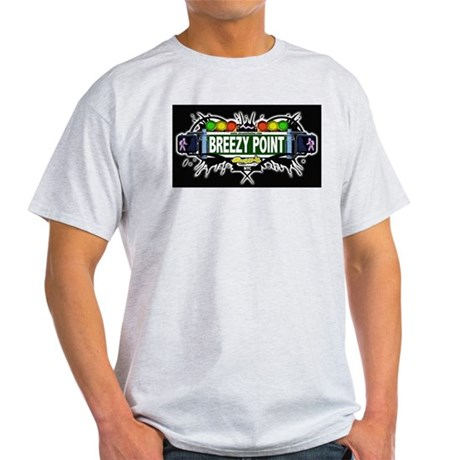 Breezy Point (Black) Light T-Shirt