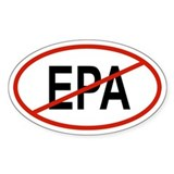 EPA Oval Decal