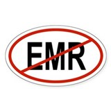 EMR Oval Decal