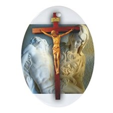 Special for the Holidays: Crucifix/Pieta Ornament
