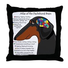 BT Weiner Brain II Throw Pillow