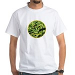 Hosta Smiley Face White T-Shirt