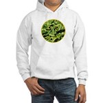 Hosta Smiley Face Hooded Sweatshirt