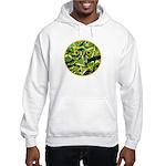 Hosta Smiley Face Hooded Sweatshirt