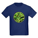 Hosta Smiley Face Kids Dark T-Shirt