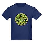 Hosta Smiley Face Kids Dark T-Shirt