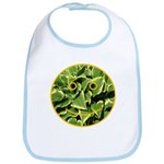 Hosta Smiley Face Bib