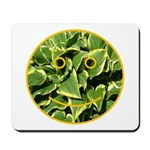 Hosta Smiley Face Mousepad