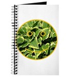 Hosta Smiley Face Journal