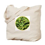 Hosta Smiley Face Tote Bag