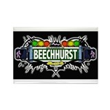 Beechhurst (Black) Rectangle Magnet