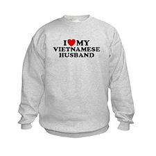 I Love My Vietnamese Husband Sweatshirt