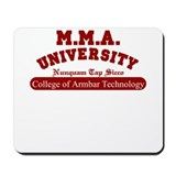 MMA University College of Arm Mousepad