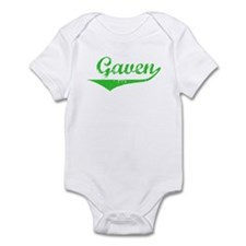 Gaven Vintage (Green) Infant Bodysuit