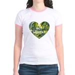 Got Hosta? Jr. Ringer T-Shirt