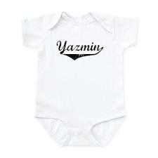 Yazmin Vintage (Black) Infant Bodysuit