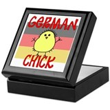 German Chick Keepsake Box