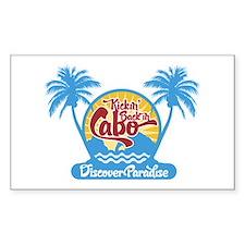 Cabo San Lucas Rectangle Decal