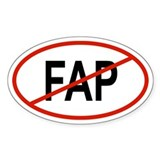FAP Oval Decal