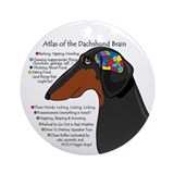 BT Weiner Brain II Ornament (Round)