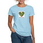 I Love Hostas Women's Light T-Shirt