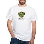 I Love Hostas White T-Shirt