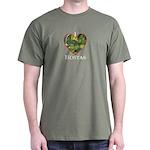 I Love Hostas Dark T-Shirt