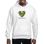 I Love Hostas Hooded Sweatshirt