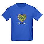 I Love Hostas Kids Dark T-Shirt