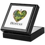 I Love Hostas Keepsake Box