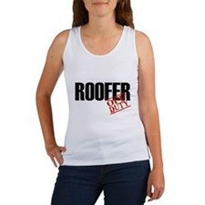 Off Duty Roofer Women's Tank Top