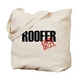 Off Duty Roofer Tote Bag