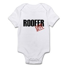 Off Duty Roofer Infant Bodysuit