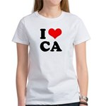 I Love CA - Women's T-Shirt