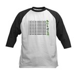No more hostas Kids Baseball Jersey