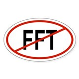 FFT Oval Decal