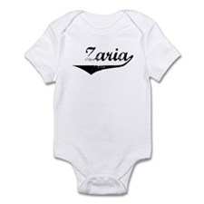 Zaria Vintage (Black) Infant Bodysuit