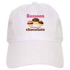 Funny Chocolate Bassoon Cap