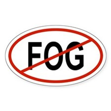 FOG Oval Decal
