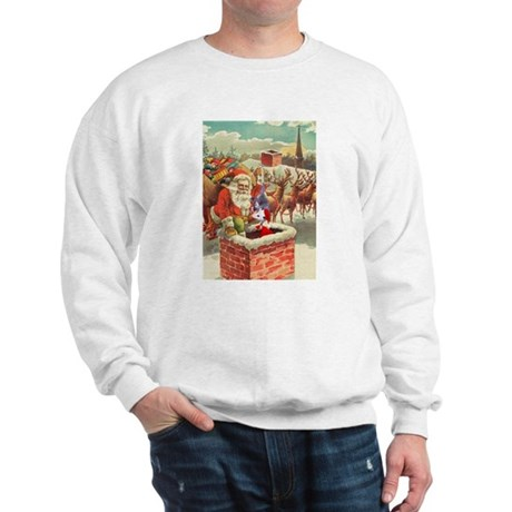 Santa's Helper Possum Sweatshirt