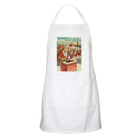 Santa's Helper Possum BBQ Apron