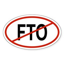 FTO Oval Decal